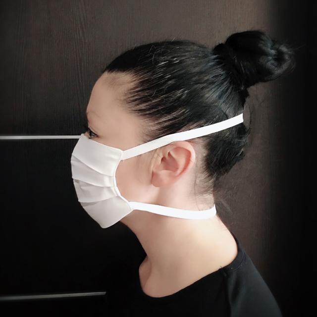 Двупластова санитарна маска 100% Памук